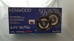 Kenwood KFC-1679ie 2-Way 6.5in. Car Speakers System NEW IN BOX