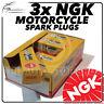 3 x NGK Spark Plugs for LAVERDA 1000cc SFC 85->89 No.2611