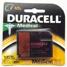 2PC Duracell J Type 6.0V Home Medical Alkaline Battery (7K67BPK) - Use by 2019