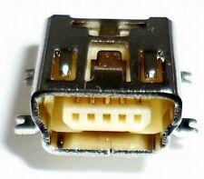 USB Einbaubuchse gew. Mini SMD Montage Steckverbinder Einbaukupplung Lötbuchse