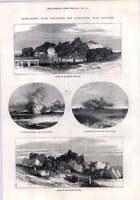1872 Gun Cotton Gunpowder Experiments Near Hastings