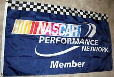 New listing New Large Checkered Nascar Performance Banner Flag Nib