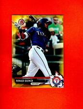 2017 BOWMAN YELLOW RETAIL PAPER PARALLEL Ronald Guzman texas rangers  #BP3 nrmt