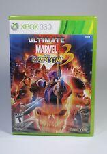 ULTIMATE MARVEL VS CAPCOM 3 für XBOX 360 US-Version NEU NTSC xbox360 OVP Spiel