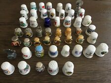 Thimbles Collection 54 assorted - 47 USA & 7 Canada