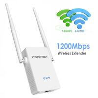 WLAN Repeater Router 5Ghz 1200 Mbit/s WI-FI Verstärker Extender mit Steckdose