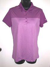 Nike Golf Women's Size Small Purple Tour Performance Dri-Fit Golf Shirt
