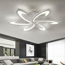 LED Ceiling Lights,Modern Metal Lamp White Acrylic Panel Lighting Fixture
