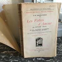 Las Folies de Amor A Eduardiano Petites Casa Galantes Hervé-piraux Gav 1911