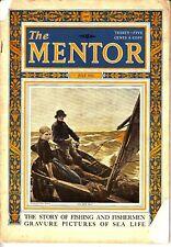 The Mentor Magazine July 1923 Story of Fishing Fishermen Sea Life