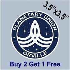 The Orville Planetary Union Orville Sticker -  Ed Mercer MacFarlane GoGoStickers