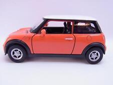 27604 | Welly Mini Cooper orange Modellauto mit Antrieb 1:40 Neu