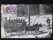 UNGARN MK 1977 PFERDE-OMNIBUS PFERD HORSE MAXIMUMKARTE MAXIMUM CARD MC CM c7023