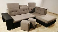 Living Room Solid Contemporary Corner/Sectional Sofa Beds