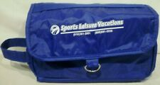 Sports Leisure Vacations Folding Travel Toiletry Bag Blue