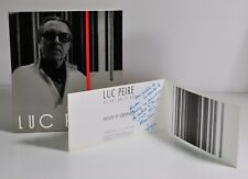 LUC PEIRE - 7 novembre - 3 décembre 1989, Musée du Luxembourg. Envoi signé.