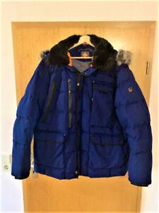 Wellensteyn Marv Herren Winterjacke Parka Blau Gr.2XL