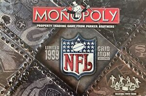 Monopoly NFL Grid Iron Replacement Pieces & Parts Tokens, Cards, Money and More