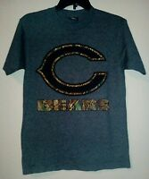 NFL Team Apparel Camouflage Chicago Bears Shirt Great Condition