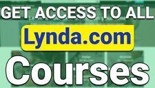 Lynda.Com Account Premium Plan Privileges Lifetime Subscription + Warranty Legal