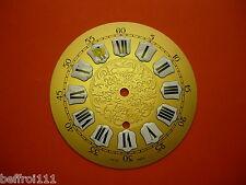 Cadran laiton décoré pendule Zenith horloge Zifferblatt Uhr Clock 15cm dial P3