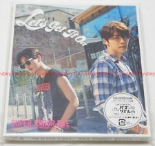 SUPER JUNIOR D&E Let's Get It On First Limited Edition CD DVD Card Sleeve Japan