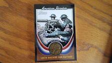 2009 Topps Heritage American Heroes: American Heroism 105th Machine Gun Battery