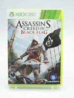 Assassin's Creed IV Black Flag Xbox 360 Game Tested Free Shipping