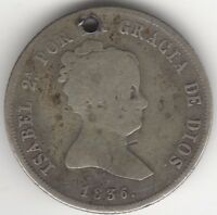 1836 Spain 4 Reales | European Coins | Pennies2Pounds