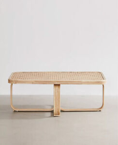 Urban Outfitters Ria Ratten/Bamboo Coffee Table
