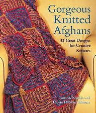 Gorgeous Knitted Afghans : 33 Great Designs for Creative Knitters  Hajera Habib