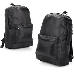 Large Mens Boys Girls Retro Backpack Rucksack School College Travel Work Zipper