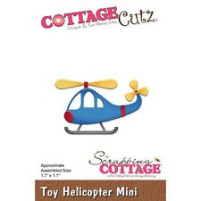 Toy Helicopter Mini Steel Die Cutting Dies Cottage Cutz CC-312 New