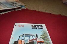 Zetor 12011 12045 Tractor Dealer's Brochure DCPA2 ver3