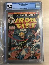 Marvel Premiere #15 Iron Fist CGC 9.2 NM Marvel Comics 1974 1st Iron Fist