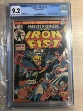 Marvel Premiere #15 Iron Fist CGC 9.2 NM Marvel Comics 1974 1st Iron Fist