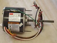 Dayton Condenser Fan Motor 1/4 HP 1075 RPM /2 Spd 208-230V 1 Ph Rot CCW/CW  (1B)