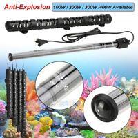 100W-400W Aquarium Submersible Heater Anti-Explosion Fish Tank Water Adjustable