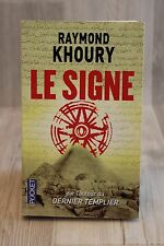 Le signe - Raymond KHOURY - Livre - Occasion