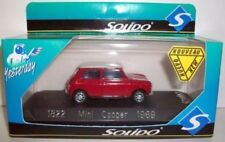 Véhicules miniatures Solido pour Mini Cooper