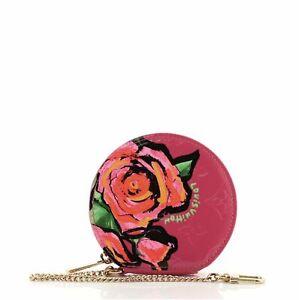 Louis Vuitton Chapeau Coin Purse Limited Edition Monogram Vernis Roses