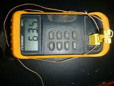 Used Good Omega Hh11, Digital Thermometer one sensor without a metal probe