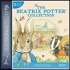 THE BEATRIX POTTER COLLECTION - 3 DVD BOXSET  *BRAND NEW DVD***
