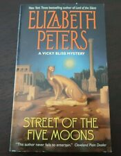 Street of the Five Moons - Elizabeth Peters - Paperback 2000 A