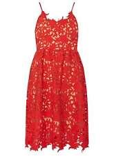 Vero Moda Coral Prom Dress Orange Size L UK 16-18 LF081 BB 08