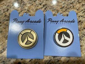 RARE - Pinny Arcade PAX East 2015 Overwatch Pins - GOLDEN & Regular - Blizzard