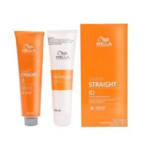 Wella Creatine Straight Hair Straightener Straightening Cream