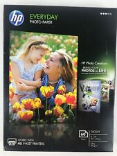 HP Genuine Photo Paper 60 Sheets 5x7 Glossy CH097A