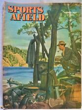 Sports Afield Magazine August 1947 Vintage Hunting Fishing Sporting Outdoors