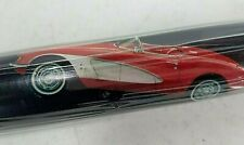 NEW Red Corvette Car Gift Wrap Wrapping Paper Roll Black & Red Sealed